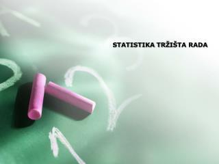 STATISTIKA TR I TA RADA