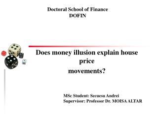 Does money illusion explain house price movements?