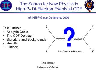 The Search for New Physics in High-P T  Di-Electron Events at CDF