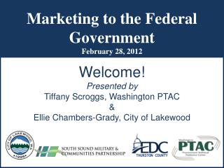 Marketing to the Federal Government February 28, 2012