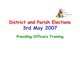 District and Parish Elections 3rd May 2007