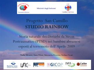 Progetto  San Camillo STUDIO RAINBOW