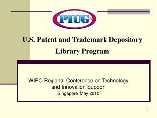 U.S. Patent and Trademark Depository Library Program