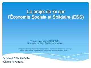 Vendredi 7 février 2014 Clermont-Ferrand