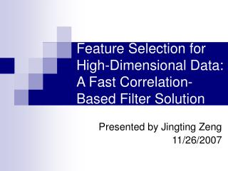 Feature Selection for High-Dimensional Data: A Fast Correlation-Based Filter Solution