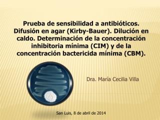 Dra. María Cecilia Villa