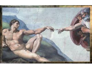 Stvoření Ref:  Stvořil Bůh člověka, k obrazu svému, poslal ho do světa, dobrou radu dal: