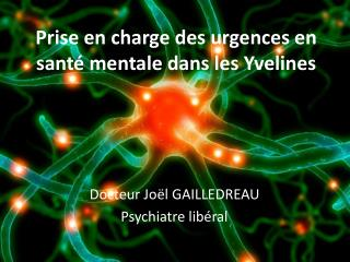 Prise en charge des urgences en sant� mentale dans les Yvelines