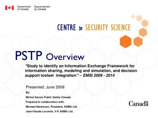 CENTRE for SECURITY SCIENCE