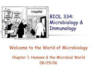 BIOL 334:  Microbiology & Immunology