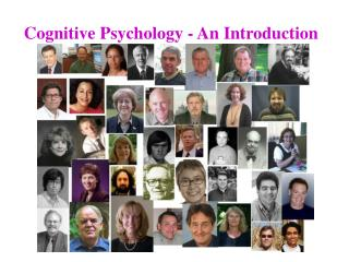 Cognitive Psychology - An Introduction