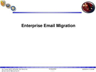 Enterprise Email Migration