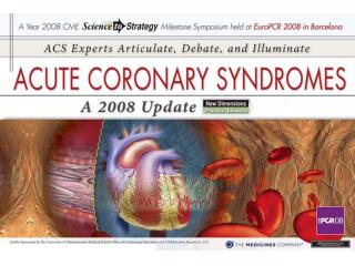 Introduction and Objectives Issues and challenges in ACS