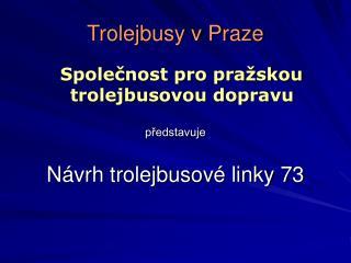 Trolejbusy v Praze