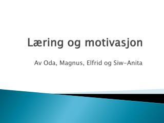 Læring og motivasjon