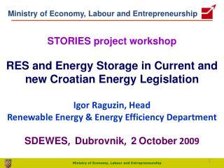 Ministry of Economy, Labour and Entrepreneurship