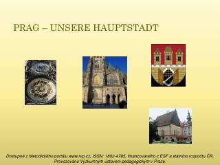 PRAG – UNSERE HAUPTSTADT