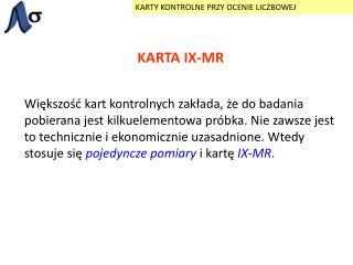 KARTA IX-MR