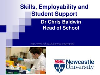 Skills, Employability and Student Support