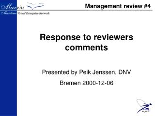 Management review #4