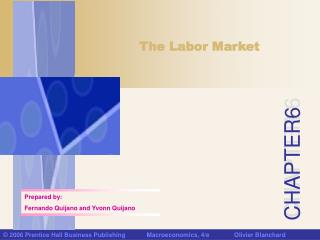A Tour of the Labor Market
