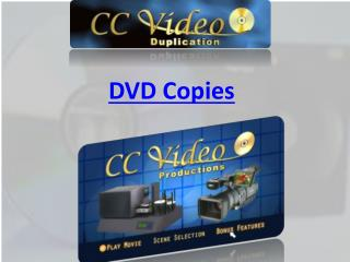 DVD Copies