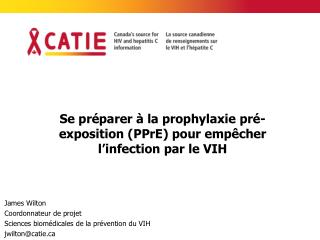 Se préparer à la prophylaxie pré-exposition (PPrE) pour empêcher l'infection par le VIH