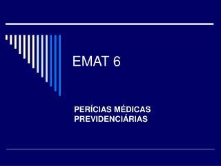 EMAT 6