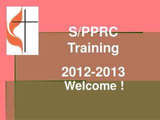 S/PPRC  Training 2012-2013