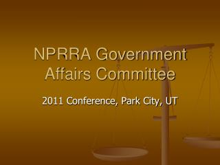 NPRRA Government Affairs Committee