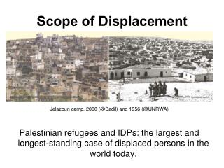 Scope of Displacement