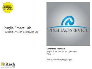 Puglia Smart Lab Puglia@Service  Project Living Lab