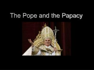 The Pope and the Papacy