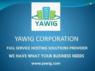 Yawig Web Hosting Provider