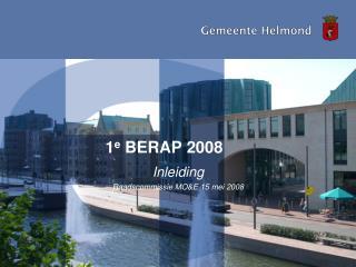 1 e  BERAP 2008