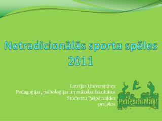 Latvijas Universitātes Pedagoģijas, psiholoģijas un mākslas fakultātes Studentu Pašpārvaldes