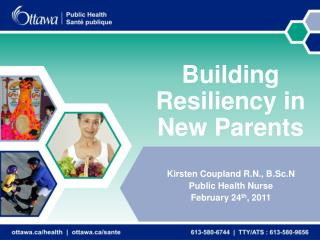 Building Resiliency in New Parents