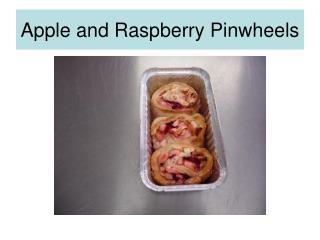Apple and Raspberry Pinwheels