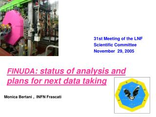 FINUDA : status of analysis and plans for next data taking