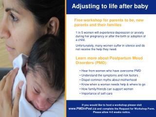 Adjusting to life after baby