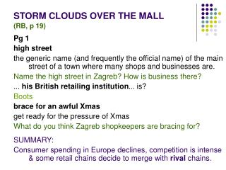 STORM CLOUDS OVER THE MALL (RB, p 19)