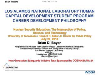 Brian D. Boyer