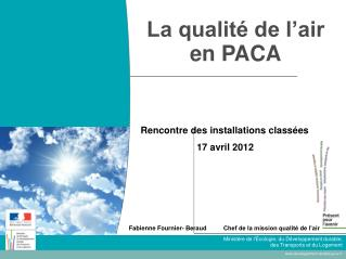 La qualité de l'air en PACA