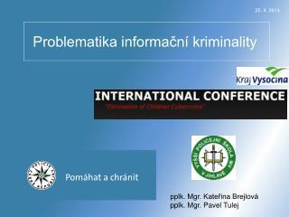 Problematika informační kriminality