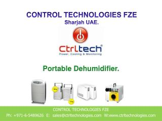 Dehumidifier supplier in Dubai, UAE & Abu Dhabi.