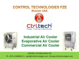 Evaporative Air Cooler. Dubai. UAE. Abu Dhabi.