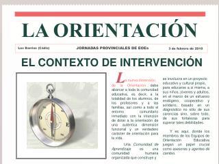 EL CONTEXTO DE INTERVENCIÓN