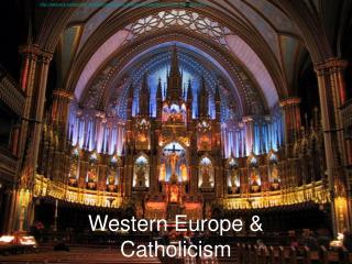 Western Europe & Catholicism