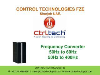 Frequency Converter. 50Hz to 60Hz. 50Hz to 400Hz