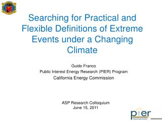Searching for Practical and Flexible Definitions of Extreme Events under a Changing Climate